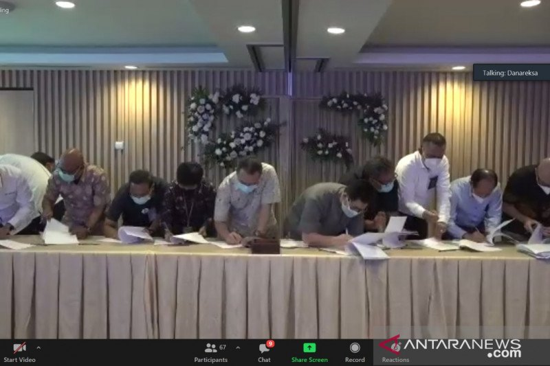 21 BUMN klaster Danareksa-PPA teken pembentukan holding