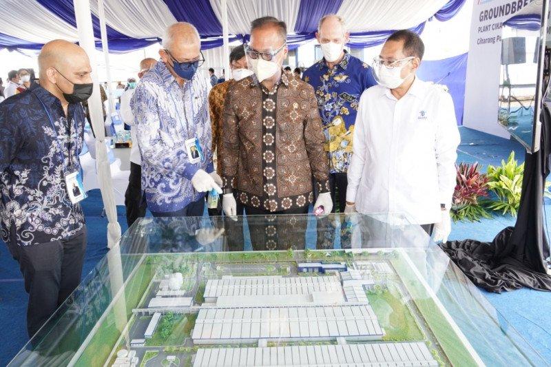 BKPM dukung ekspansi pabrik susu di Bekasi senilai Rp3,8 triliun