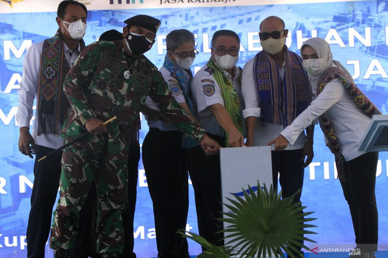 Gubernur resmikan pelayaran perdana kapal ASDP KMP Jatra 1