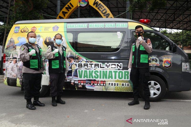 Batalyon Vaksinator Kampung Sehat 2 siap hadang Covid-19 ke pelosok NTB