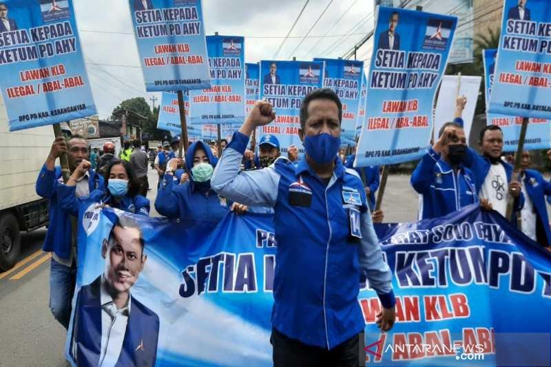 DPC Demokrat Solo raya tetap solid dan setia kepada AHY