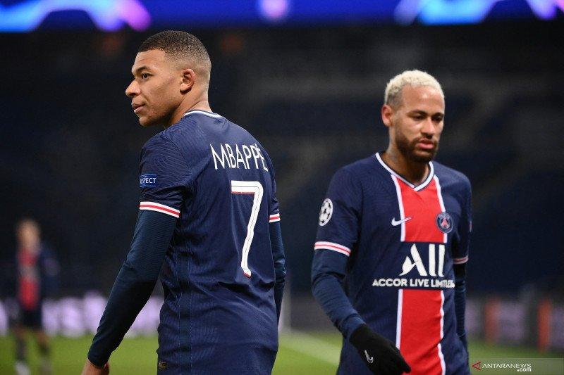 Presiden PSG angkat bicara soal masa depan Kylian Mbappe dan Neymar