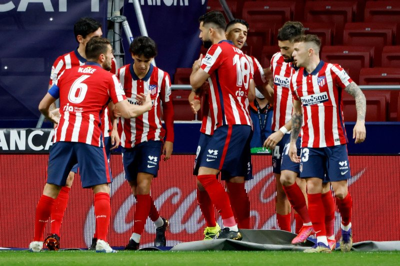 Atletico Madrid kian lengket di puncak setelah bekuk Bilbao 2-1