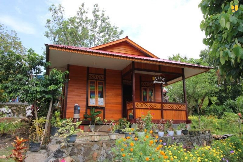 263 sarana hunian wisata di Manado-Likupang selesai