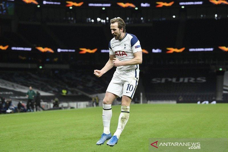Harry Kane antarkan Tottenham tundukkan Dinamo Zagreb di leg pertama