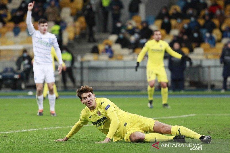Duo bek tengah antarkan Villarreal menang di markas Dynamo Kiev