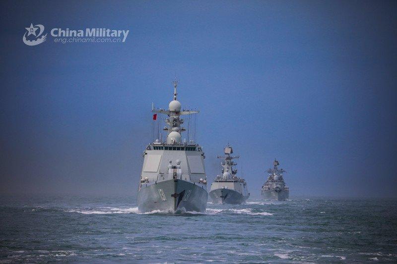 China awasi pergerakan kapal perang AS di Taiwan