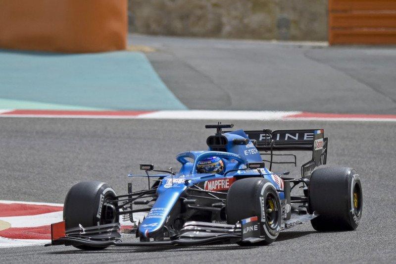 Inovasi tim Alpine menjadi pusat perhatian di tes Bahrain