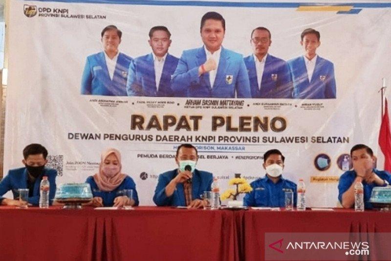 KNPI Sulsel serukan DPP gelar kongres bersama akhiri konflik organisasi