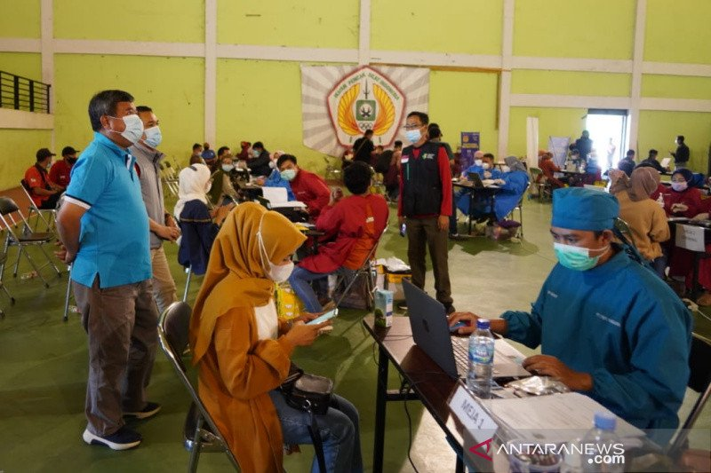 Pemkab Garut sasar vaksinasi covid massal 2.500 orang