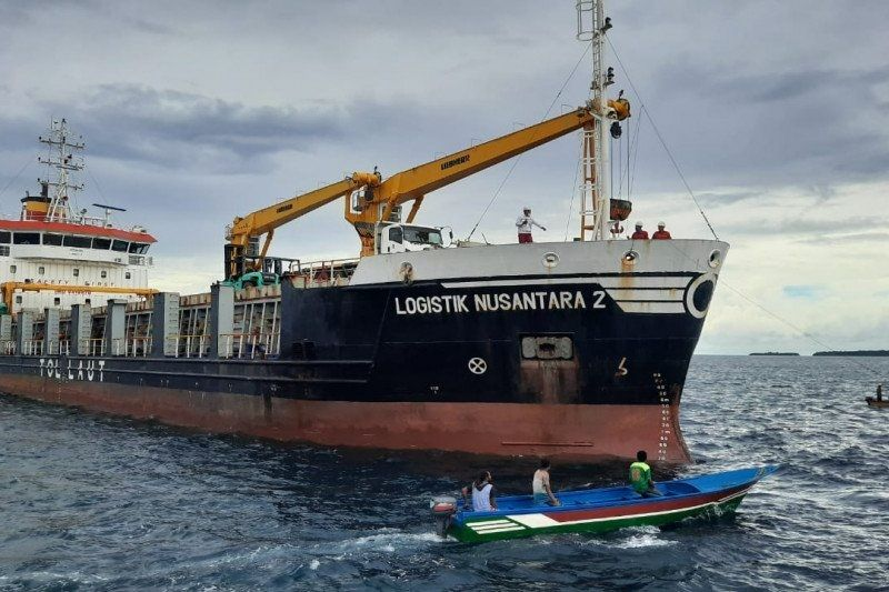 Kemenhub: Tol Laut trayek T-19 jadi kunci sukses distribusi beras di Papua