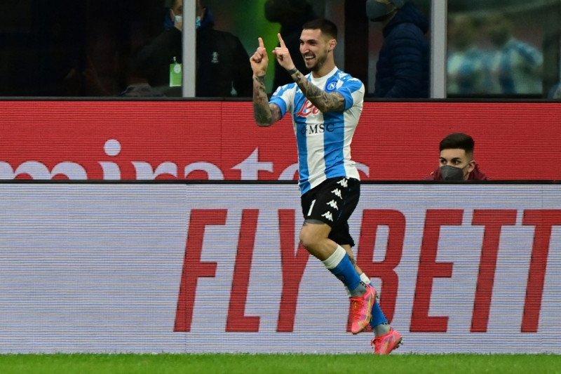 Milan tumbang  0-1 di tangan Napoli