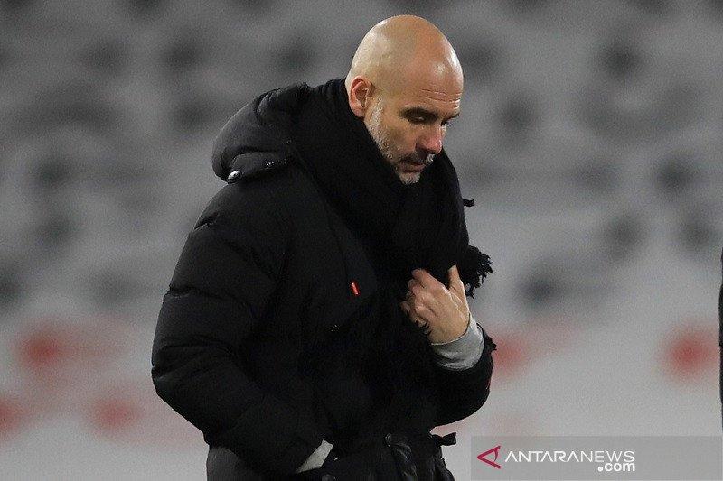 Penampilan City beberapa pekan terakhir membuat Guardiola terkesan