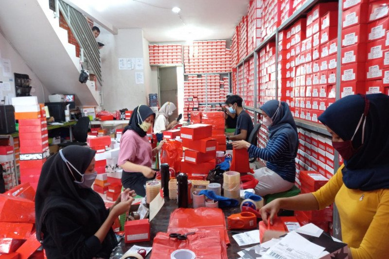 Berkat digitalisasi UMKM brand sepatu Bogor tembus pasar ekspor