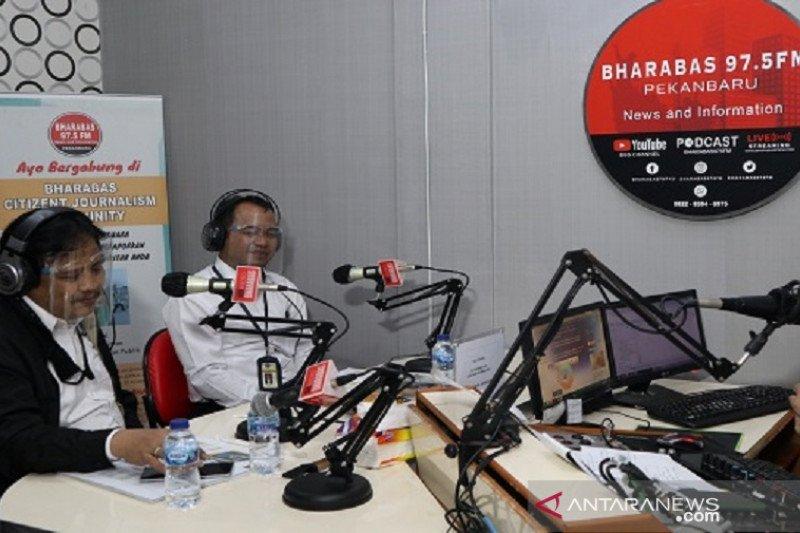 Bincang pajak DJP Riau di radio Pekanbaru, begini cara melaporkan SPT