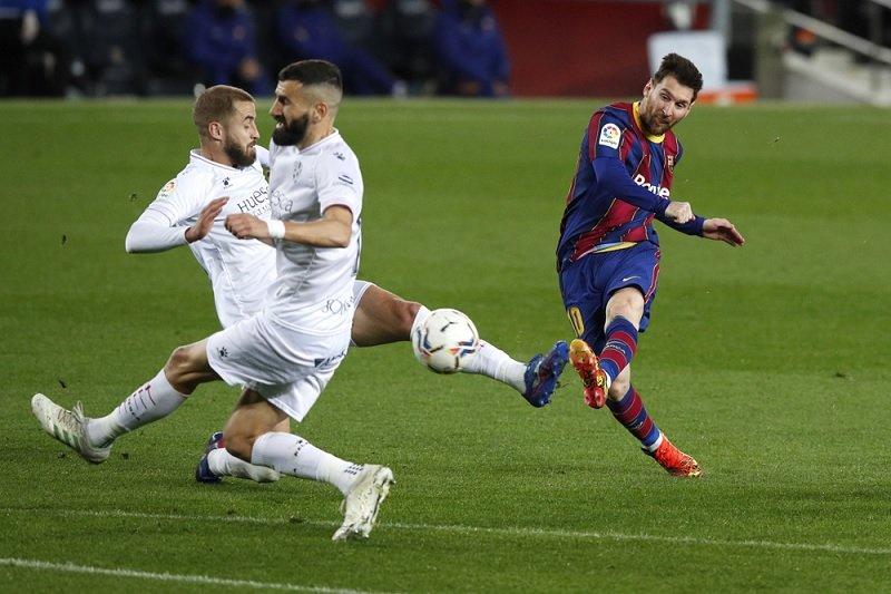 Liga Spanyol - Barcelona gusur Real Madrid dari posisi kedua