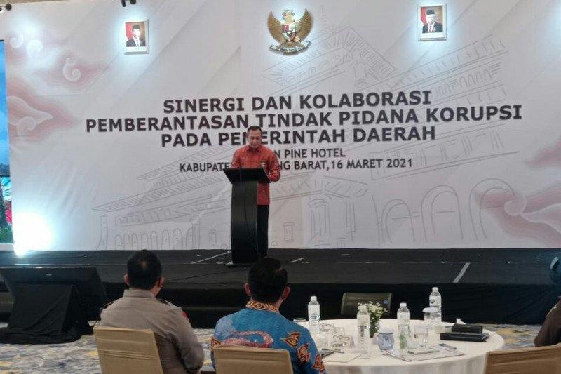KPK minta kepala daerah di Jawa Barat rapatkan barisan berantas korupsi