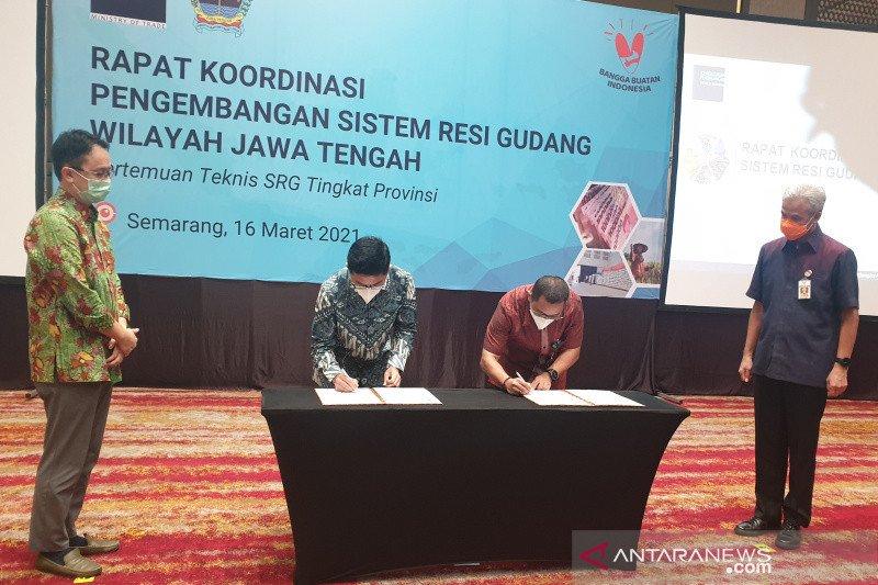 Pemerintah dorong pemanfaatan Sistem Resi Gudang (SRG)