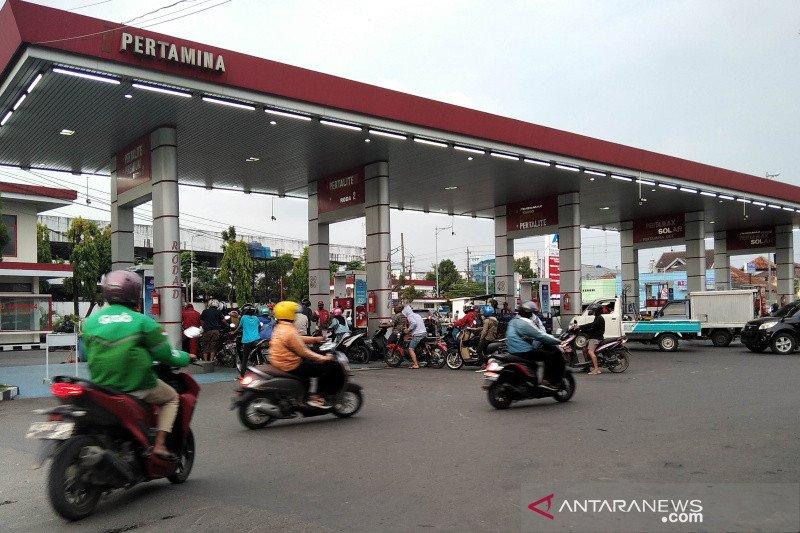 Pertamina memantau stok BBM di Jateng dan Yogyakarta secara digital