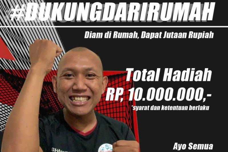Sambut Piala Menpora PSSI Pers gelar lomba 'chants' kampanye #DukungdariRumah