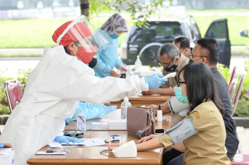 Gedung Sate mulai dipakai untuk sentra vaksinasi 5.000 ASN