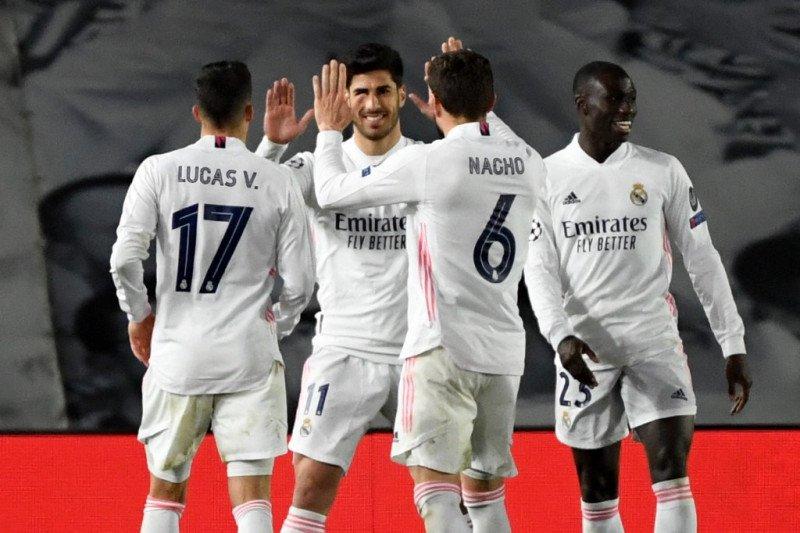 Liga Champions - Tiga gol antar Real Madrid ke delapan besar