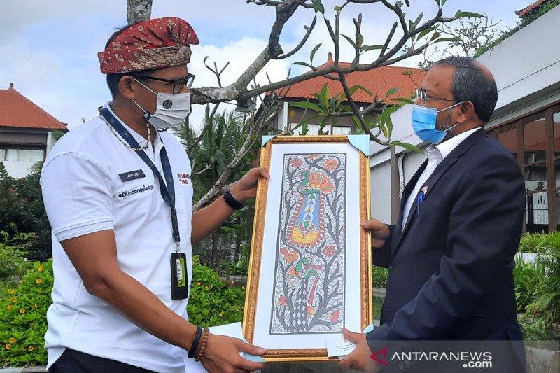 Menparekraf-Dubes India membahas rencana pembukaan pariwisata Bali