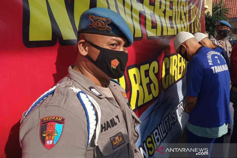 Polres Cirebon tangkap dua tersangka pembobol mesin ATM