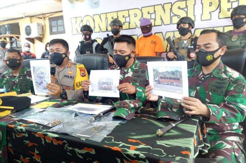 Aparat TNI/Polri tangkap pemasok bahan makanan untuk KKB Kali Kopi