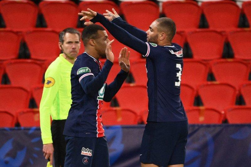 PSG ke perempatfinal Piala Prancis setelah menggebuk Lille 3-0
