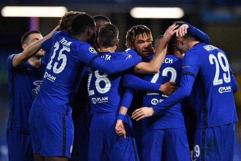 Chelsea susul Liverpool dan City menuju perempat final Liga Champions