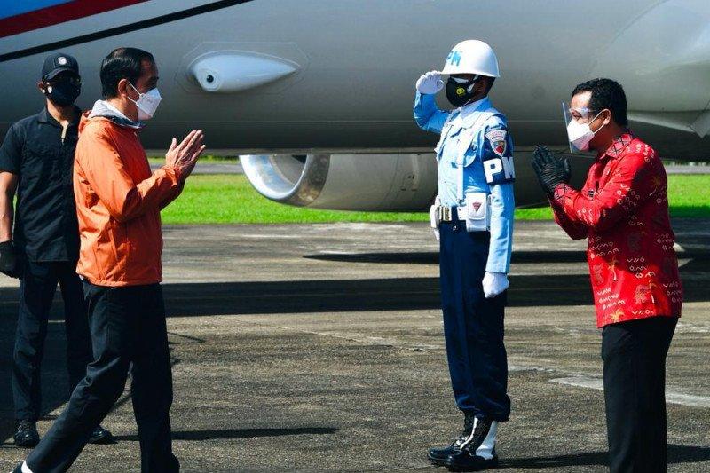 Presiden Jokowi berharap keberadaan Bandara Buntu Kunik Toraja permudah wisatawan
