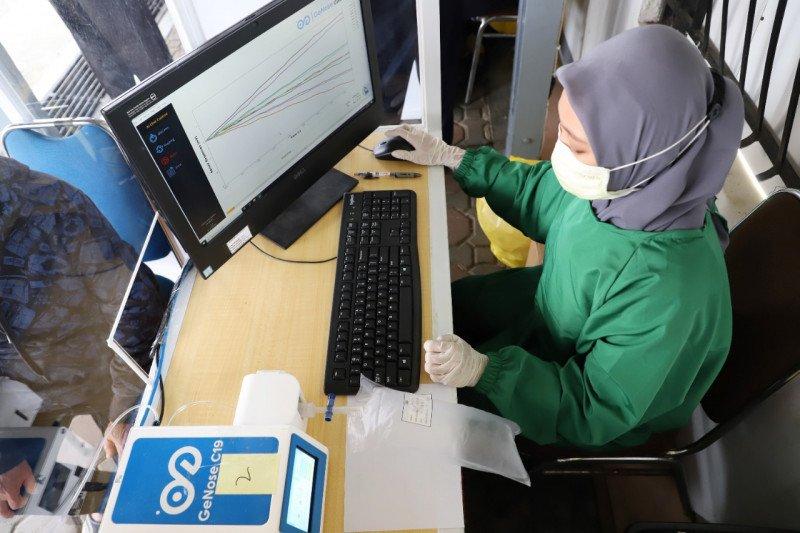 Tarif pemeriksaan GeNose C19 di stasiun Daop Surabaya naik jadi Rp30 ribu