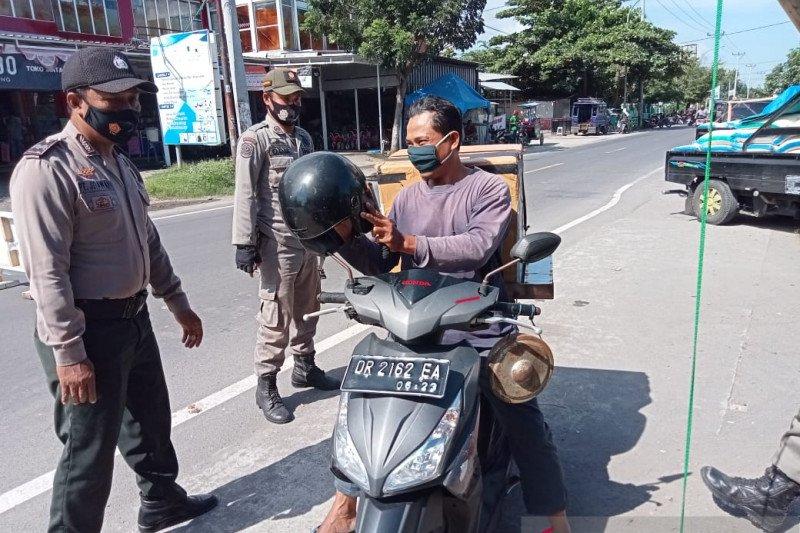 Satgas Ops Yustisi tindak tegas enam pelanggar prokes di KLU
