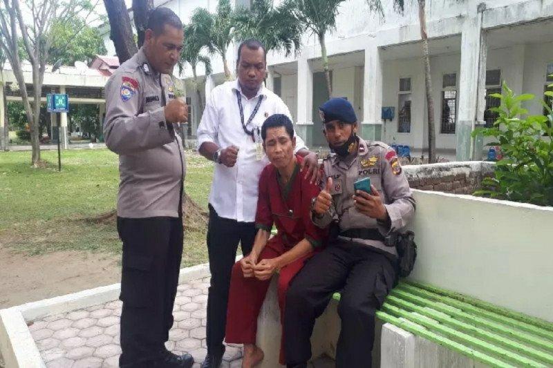 Polisi diduga hilang saat tsunami ditemukan di Rumah Sakit Jiwa Aceh