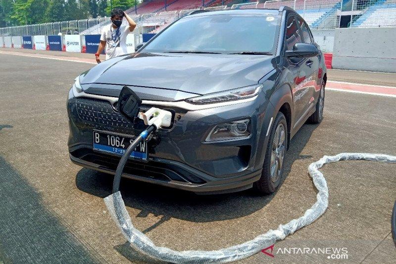 Penjualan Mobil Listrik Hyundai Di Indonesia Tembus 300 Unit