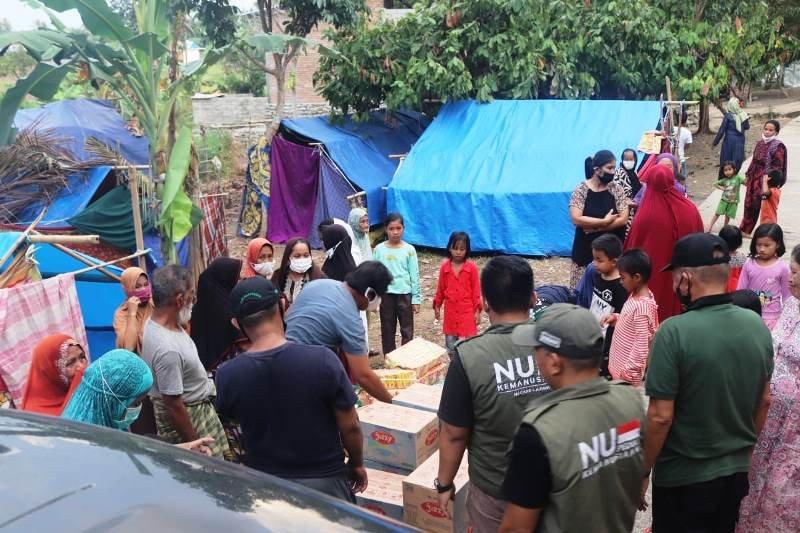 Tim NU Peduli bantu sumur bor dan MCK untuk korban gempa bumi di Sulbar
