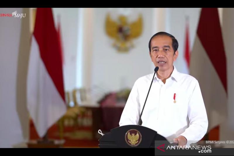 Pesan Presiden Jokowi ke para bupati: Anggaran jangan diecer-ecer