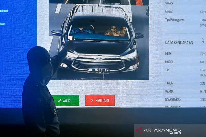 Satlantas Polresta Surakarta uji coba penerapan tilang elektronik