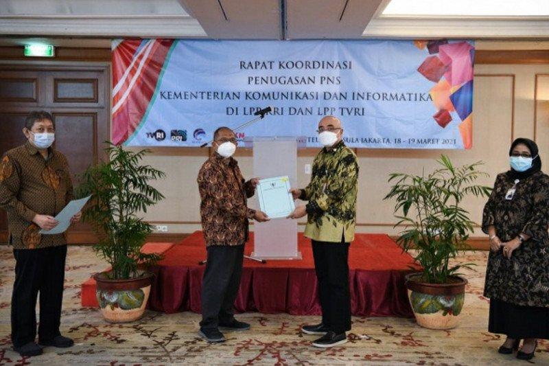 Kementerian Kominfo transformasi status kepegawaian di RRI dan TVRI