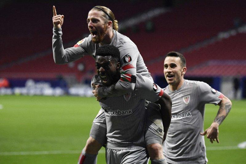 Athletic Bilbao dan Eibar berbagi poin di San Memes
