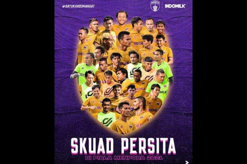 Persita Tangerang memboyong 30 pemain ke Sleman untuk Piala Menpora