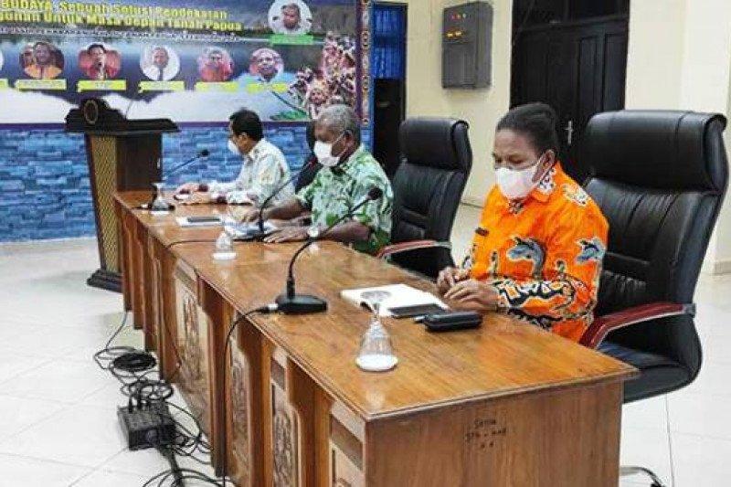 Pemkab Jayapura bahas pengalihan anggaran untuk OPD 2021