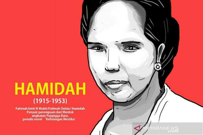 Hamidah, penulis perempuan dari Bangka