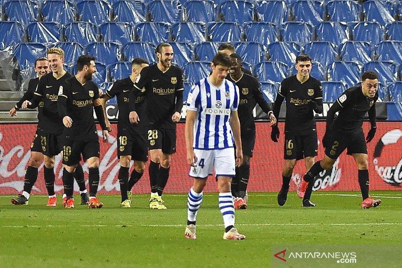 Barcelona bantai Sociedad 6-1