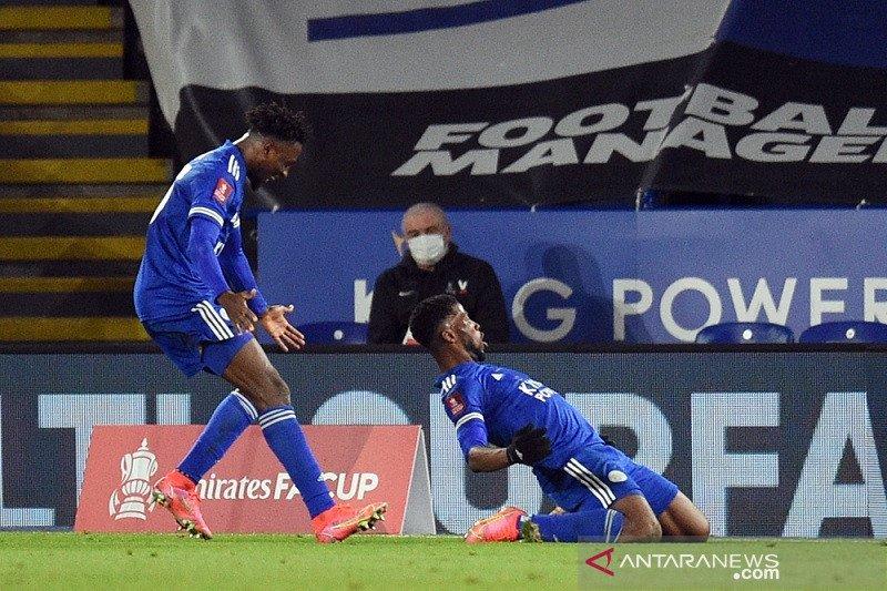 Leicester singkirkan MU dari Piala FA