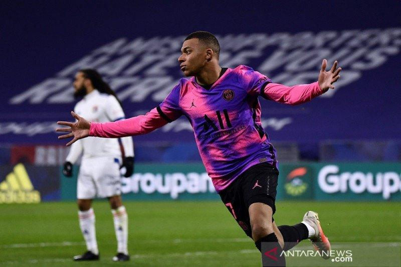 Liga Prancis - Mbappe capai tonggak 100 gol saat antar PSG ke puncak