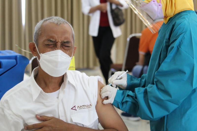 Di Indonesia, 8.634.546  orang telah dapatkan vaksin dosis lengkap