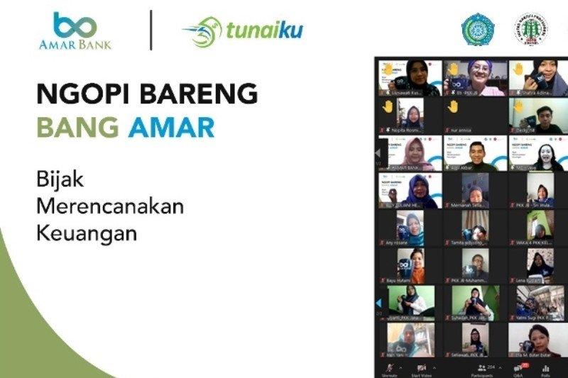 """Amar Bank dukung literasi keuangan melalui """"Ngopi Bareng Bang Amar""""."""