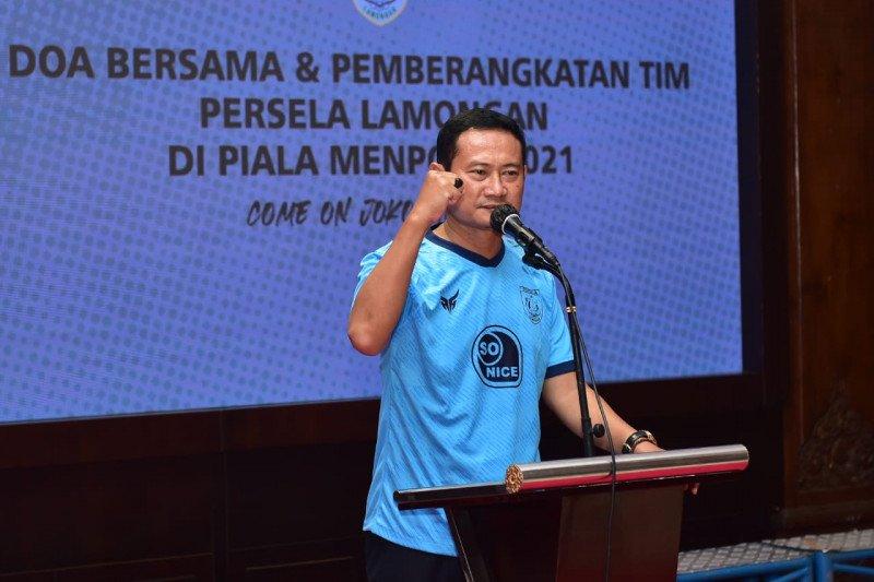 Bupati Lamongan Tidak Bebani Persela Di Piala Menpora Antara News